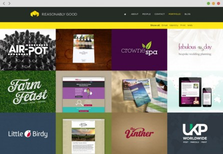 New website   Reasonably Good   Design Communication